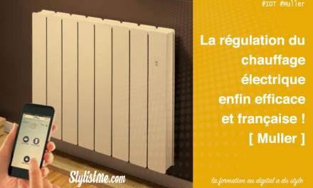 Smart EcoControl radiateurs intelligents connectés Muller Netatmo