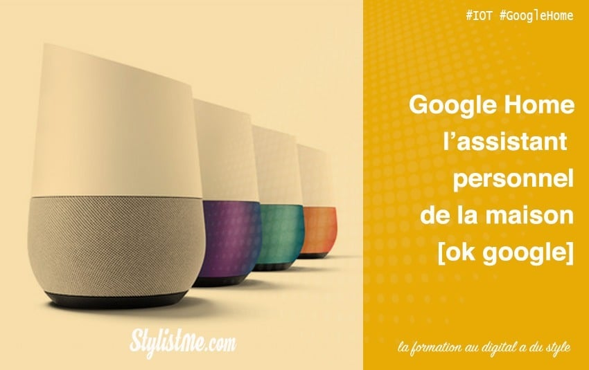 Google Home l'assistant personnel vocal de la maison