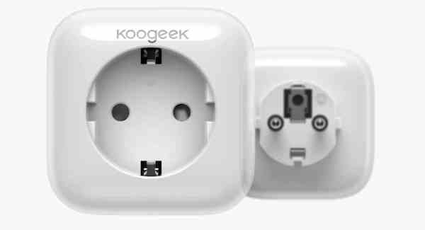 prises connectées koogeek apple HomeKit HomePod Apple TV Siri