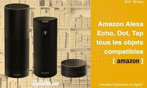 Amazon Echo tous les objets connectés compatibles Alexa