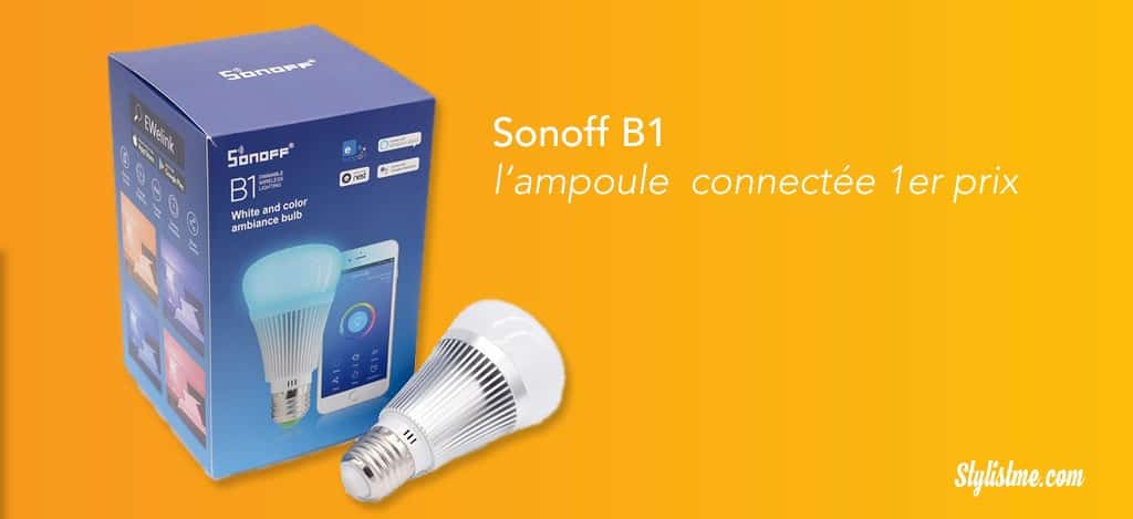 ampoule-led-connectée-google-home-sonoff-b1