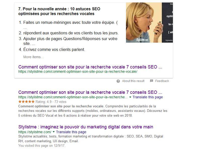 Comment optimiser son site pour la recherche vocale position 0 et première position Google