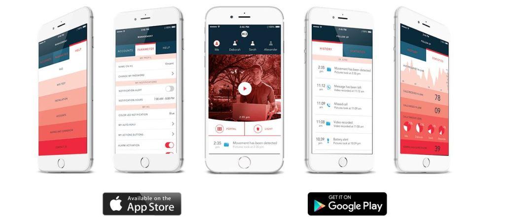 Hi) de fenotek avis application mobile
