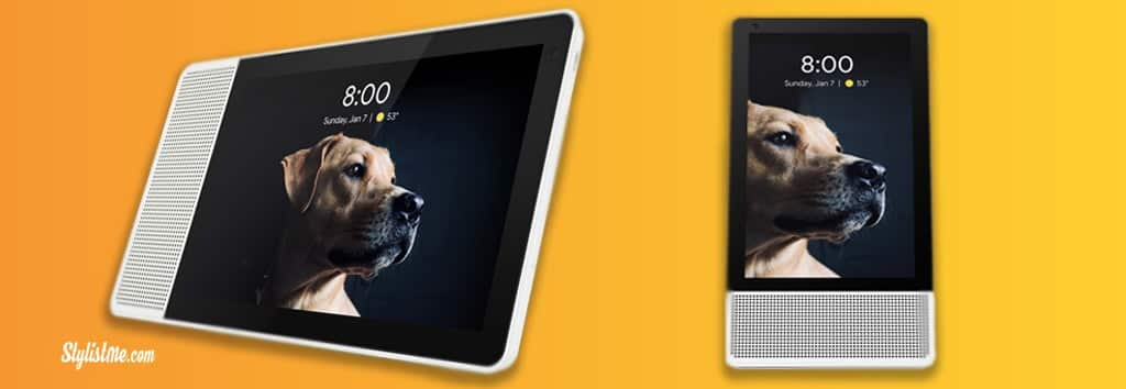 Lenovo Smart Display test avis google assistant