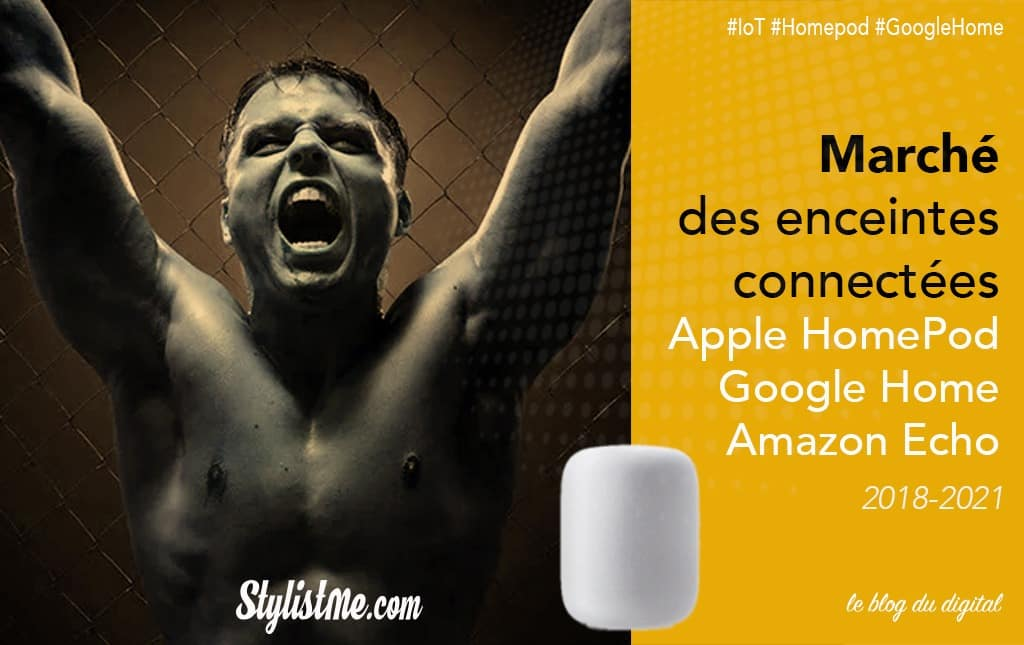 Part de marché Apple HomePod