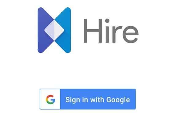 Google Hire disponible