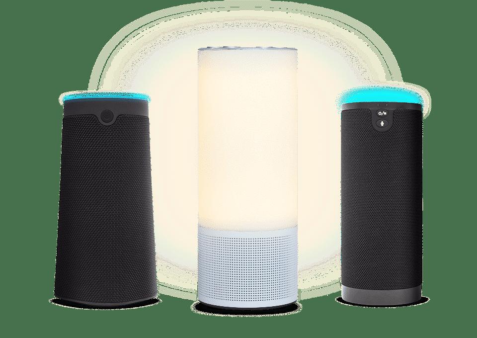 Amazon Alexa lance 3 enceintes en marque blanche Junlam, Narui et Adition