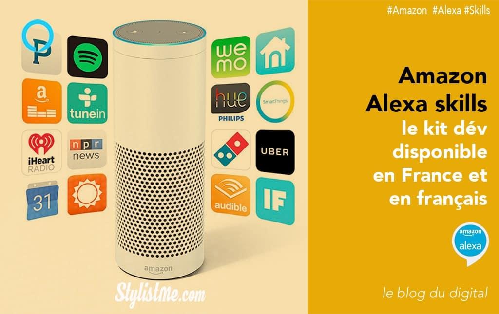 Amazon Alexa skills kit développeur france français