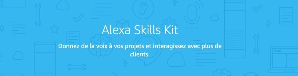 Amazon Alexa skills France Canada développer