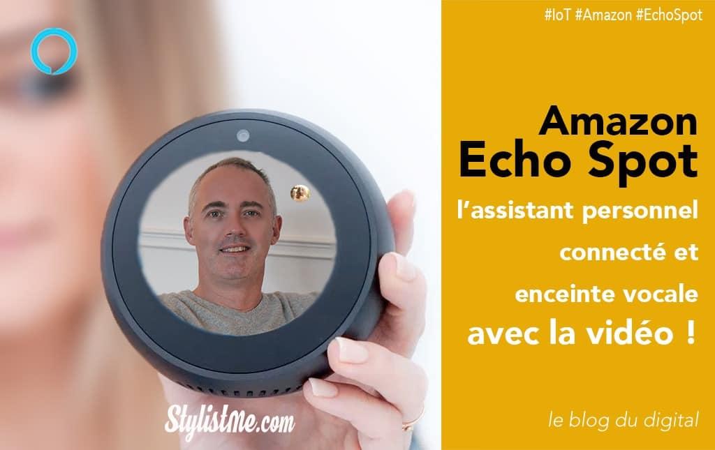 Amazon Echo Spot test avis