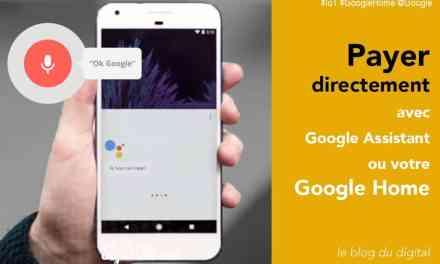 Payer ou faire un virement avec votre Google Home grâce à Google Pay