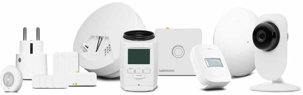 Medion P61110 avis test amazon alexa kit domotique