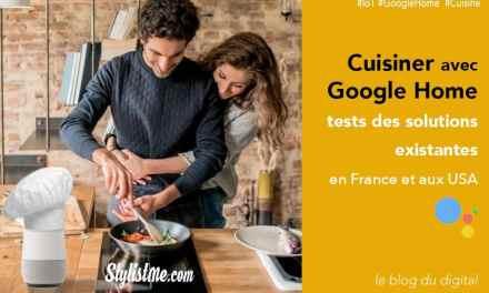 Cuisiner avec Google Home test Emile et une recette – Recette du moment