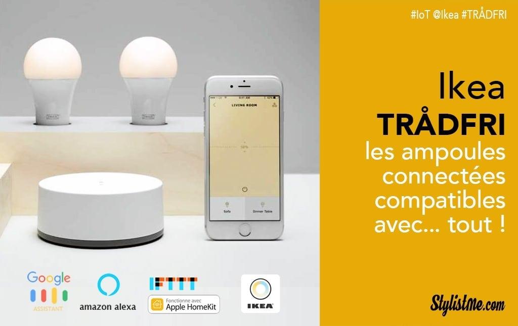 Ikea Tradfri Test Avis Ampoule Connectee Abordable Google Home