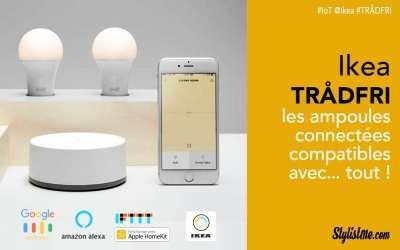 Ikea TRADFRI test avis ampoule connectée abordable et compatible Google Home
