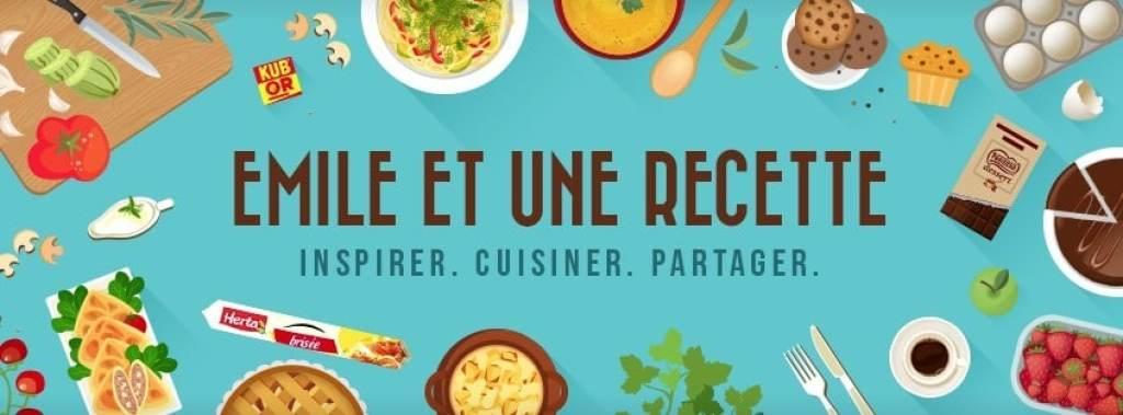 Emile et une recette la meilleure solution pour cuisiner avec Google Home Max ou mini
