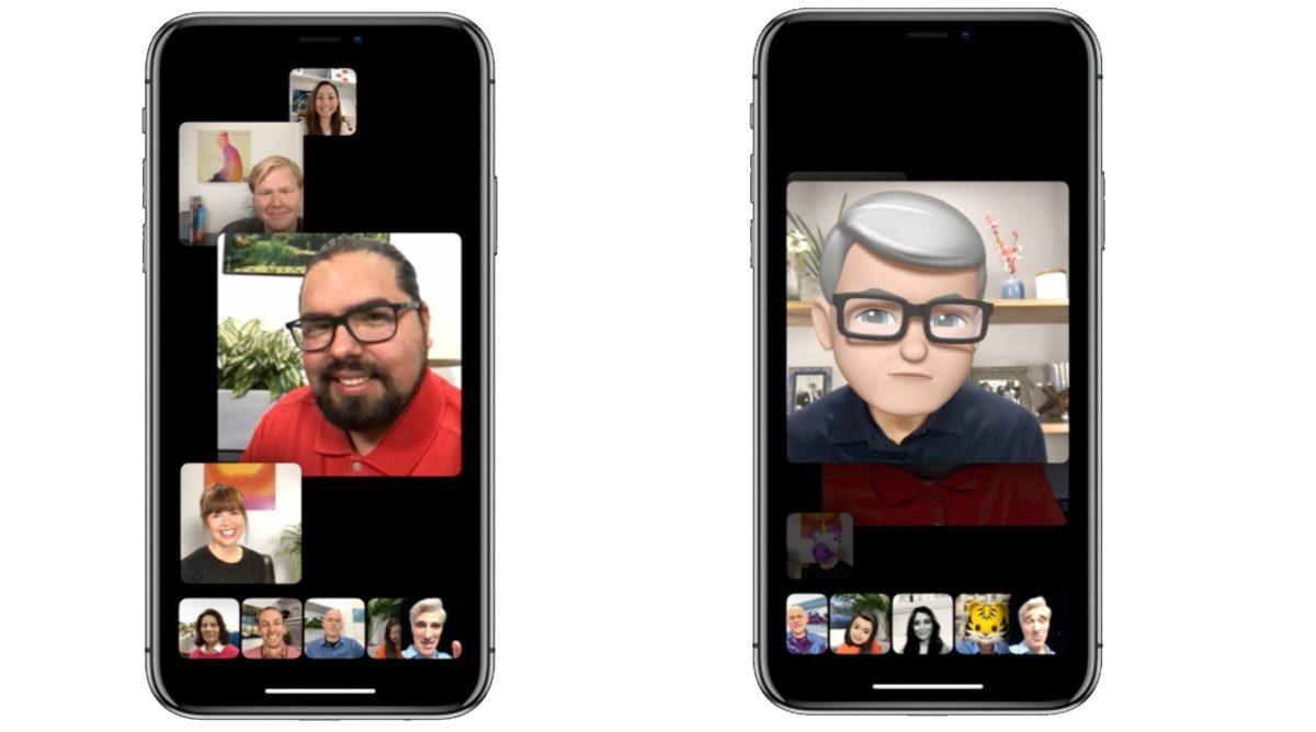 Keynote Apple 2018 WWDC FaceTime Groupe