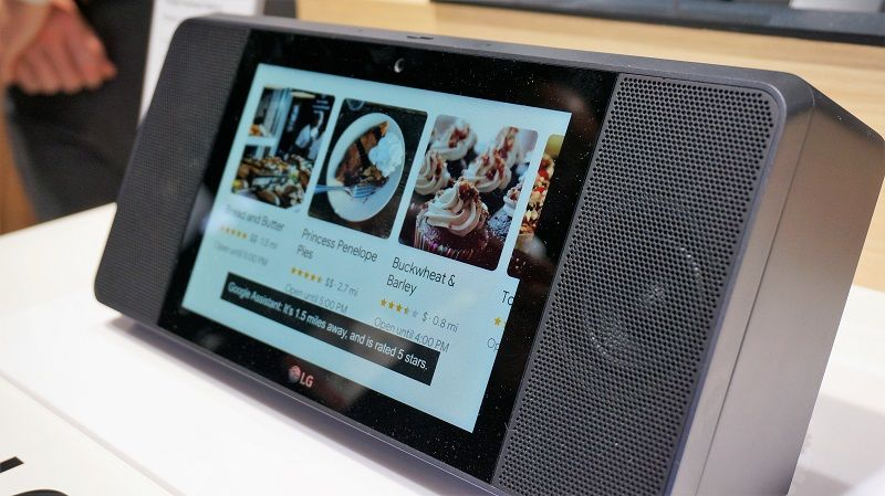 LG ThinQ WK9 avis test avis smart display google assistant