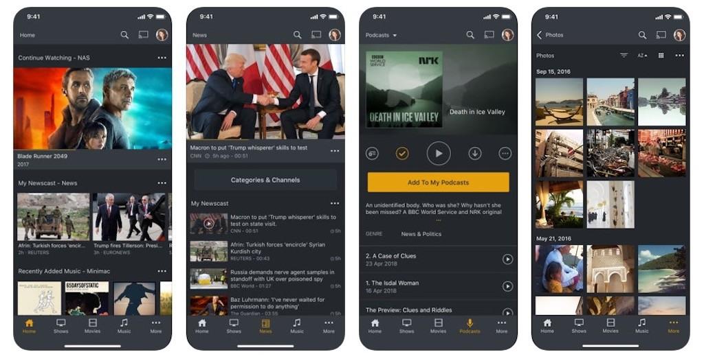 Google Chromecast meilleure app Plex
