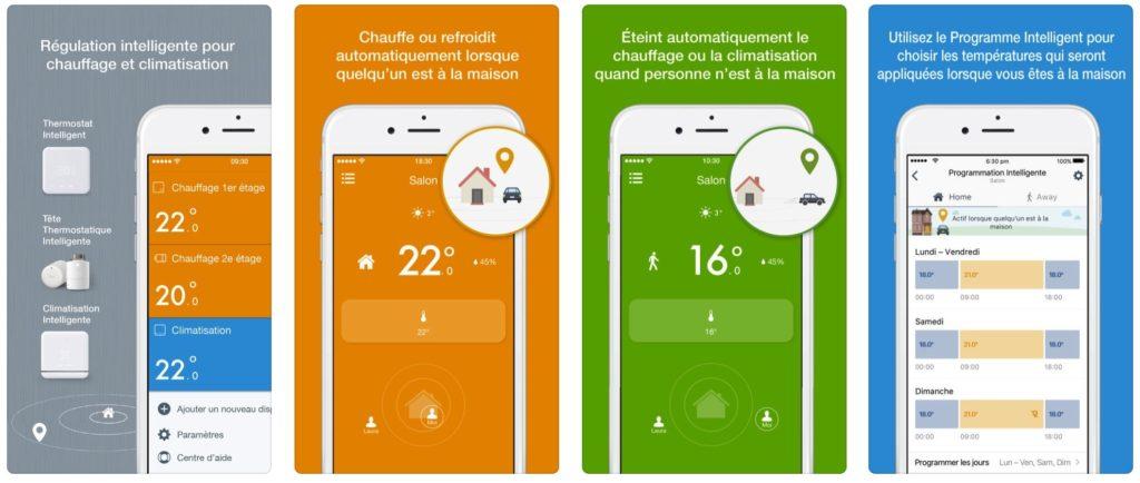 Tado climatisation PAC test avis prix app mobile thermostat connecté