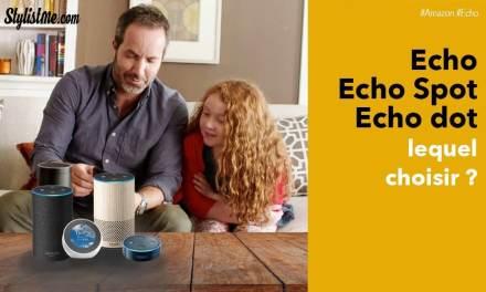 Amazon Echo, Echo Dot et Spot en vente en France Alexa