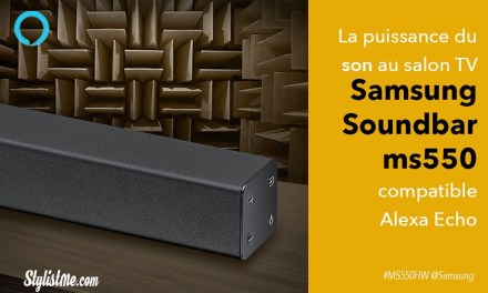 Samsung ms550 avis test barre de son compatible Amazon Echo