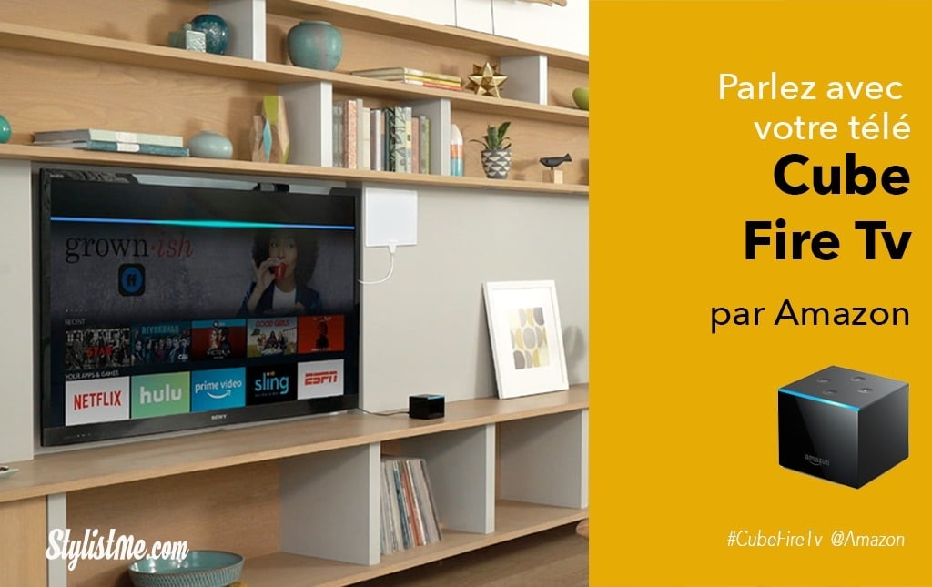 Cube Fire TV Amazon avis prix : parler à votre télé avec Alexa