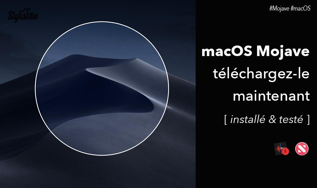 Télécharger et installer macOS Mojave bêta  dès maintenant 🚀