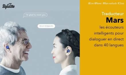 Mars Earbuds écouteurs Bluetooth pour dialoguer dans 40 langues