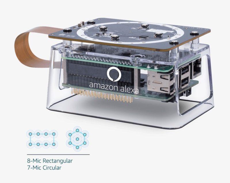 Amazon Echo 3ème génération donut 5 micros