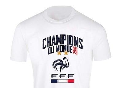 amazon prime day tee shirt france coupe du monde 2018 2 etoiles
