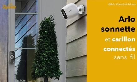 Arlo audio doorbell test avis sonnette connectée compatible caméra Arlo