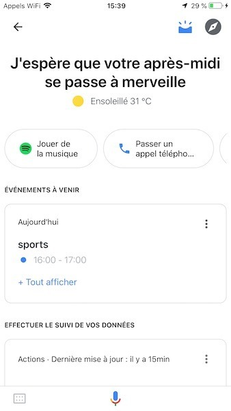 visual snapshot google assistant comment utiliser