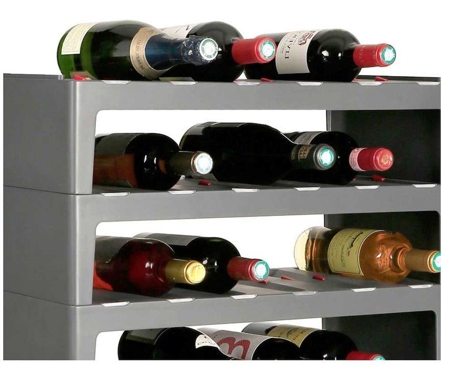 casier à bouteilles vin connectée caveasy