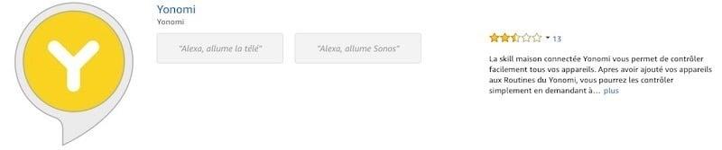 Comment commander votre TV avec Alexa la skill Yonomi
