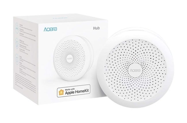 Hub aqara HomeKit Apple Xiaomi