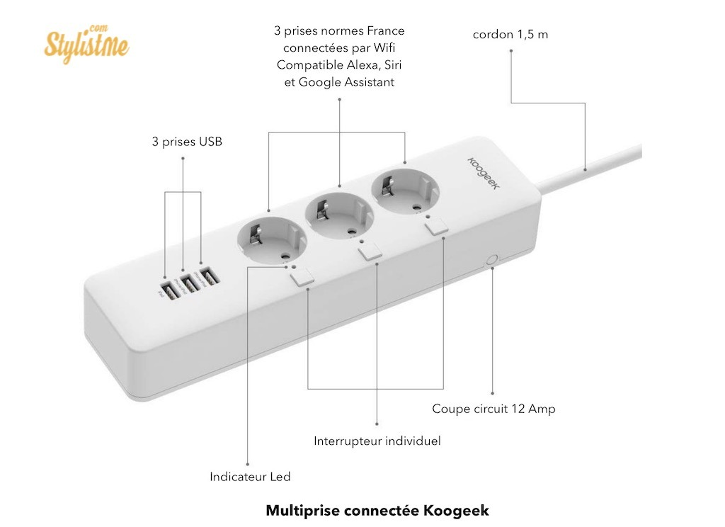 koogeek multiprise alexa homepod homekit google home