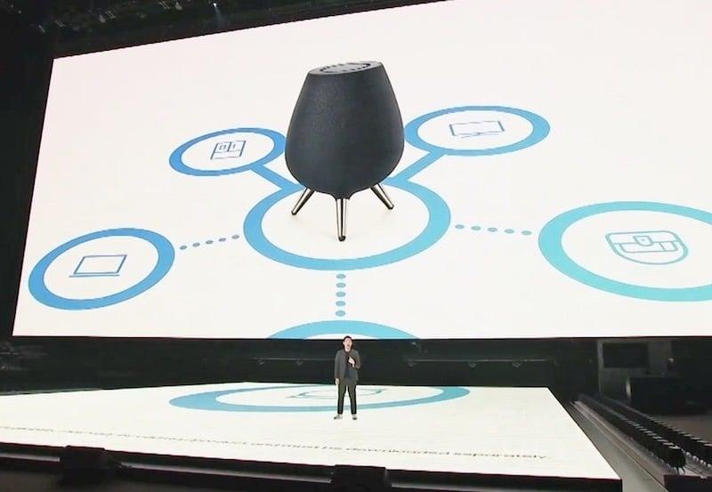 Samsung Galaxy Home avis test présentation