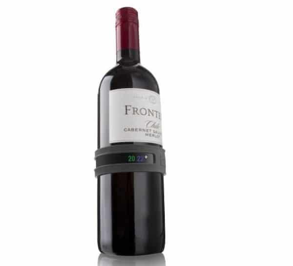 Vacu thermomètre vin