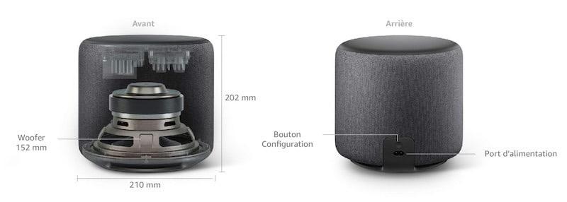 Amazon Echo Sub caractéristiques