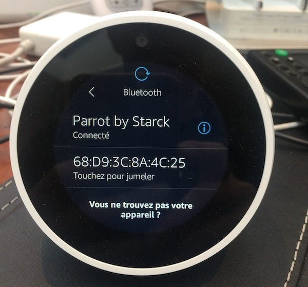 connecter enceinte bluetooth alexa amazon echo