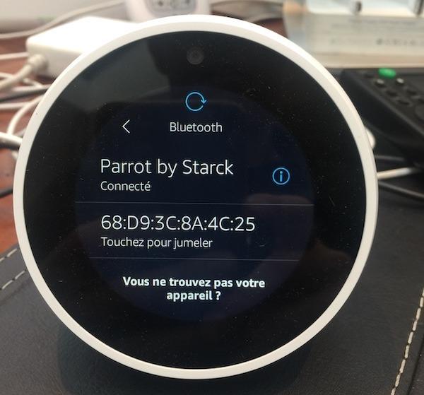 connecter enceinte bluetooth alexa amazon echo