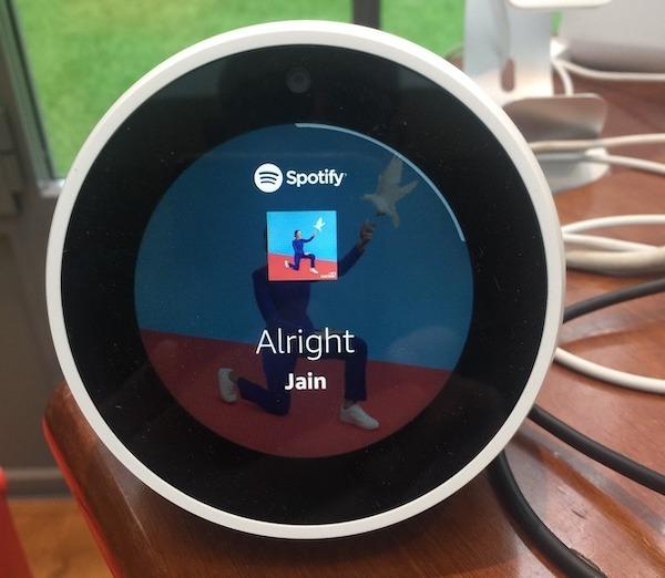 Alexa comment écouter de la musique gratuite Spotify