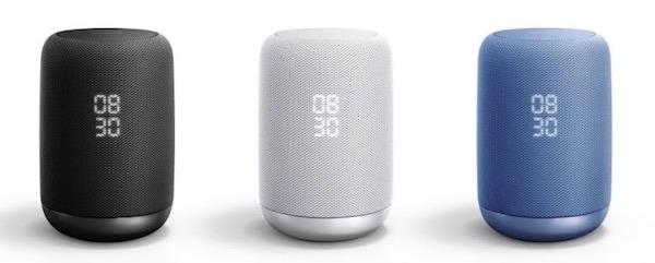enceinte google assistant Sony LF-S50G