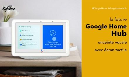 Google Home Hub : lancement de la Google Home avec écran tactile