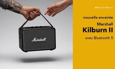 Marshall Kilburn 2 avis test première enceinte Bluetooth 5