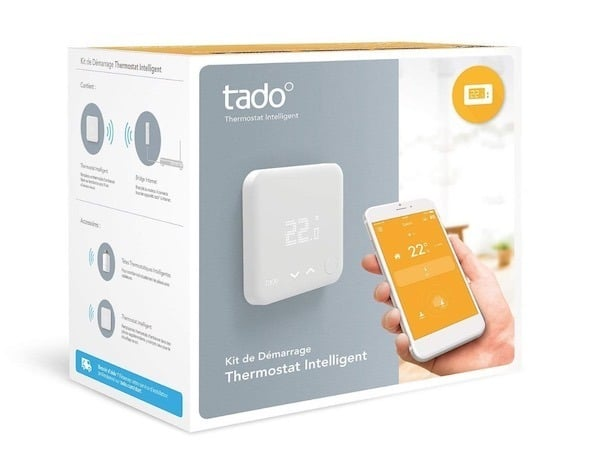 tado v3 thermostat avis test boite