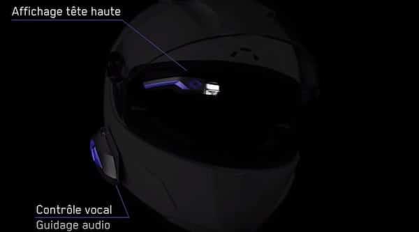 eyelights GPS moto affichage casque test avis