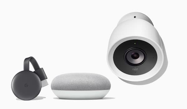 Pack Chromecast Google Home Nest