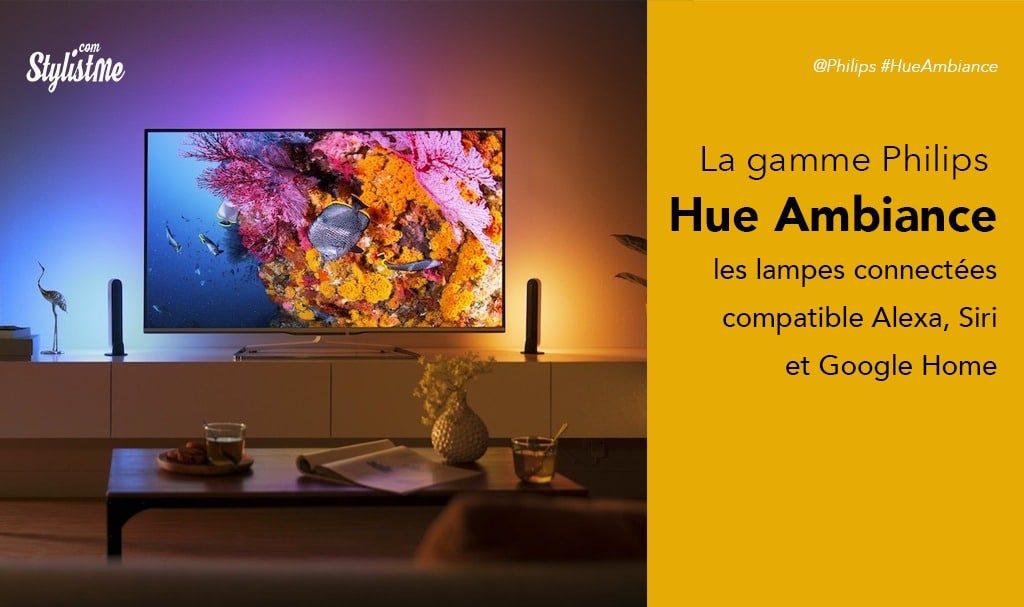 Lampe Philips Hue Ambiance test avis Play Go Iris Living White and Color